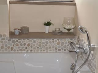 Salle de Bain Minérale Zen Salle de bain moderne par idée ô logis Moderne