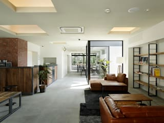 PIECE HOSTEL KYOTO モダンなホテル の 加藤淳一建築設計事務所/JUNICHI KATO & ASSOCIATES モダン