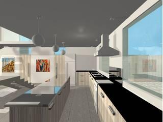 Projeto Casa Cozinhas modernas por Studio Bonazza Moderno