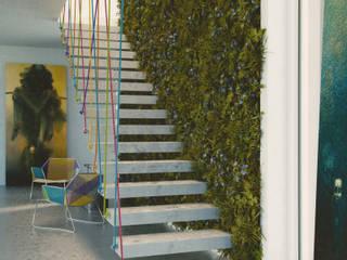 Vertical Garden Hành lang, sảnh & cầu thang phong cách hiện đại bởi Seryjny Projektant Hiện đại