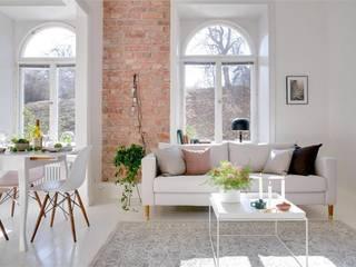 Furniture leg - Estelle Teak:  Living room by Prettypegs