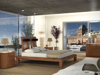 ADVERTNEW Modern style bedroom