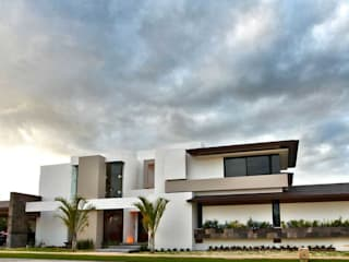 Casas de estilo minimalista de AMEC ARQUITECTURA Minimalista