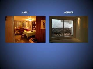 REMODELACIONES   ANTES / DESPUES:  de estilo  por ARQTE ARQUITECTOS