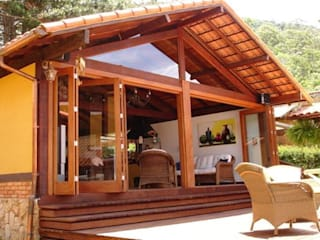 Cadore Arquitetura Rustic style houses