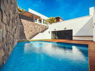 Residencia R53 Albercas modernas de Imativa Arquitectos Moderno