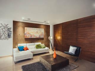 غرفة المعيشة تنفيذ Imativa Arquitectos