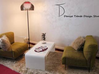 Progettazione Zona Lounge in studio Commercialista Studio moderno di DENISE TRENTO DESIGN STUDIO Moderno