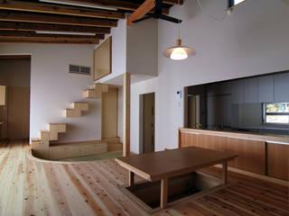 原 空間工作所 HARA Urban Space Factory Living roomTV stands & cabinets