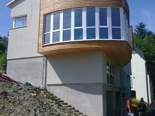 Haus B ins Insenborn, Luxemburg Moderne Häuser von Laifer Holzsysteme Modern