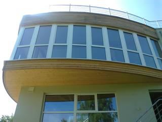 Haus B ins Insenborn, Luxemburg Moderne Wohnzimmer von Laifer Holzsysteme Modern