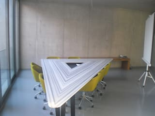 AÇAR MOBİLYA DEKORASYON – Toplantı Masası:  tarz Ofis Alanları & Mağazalar