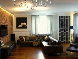 Living room by Pracownia Projektowa Pe2