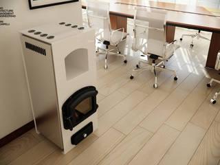 Termostufe: Ingresso & Corridoio in stile  di B.A.M.E.