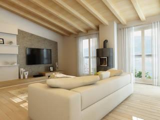 Ristrutturazione fabbricato Svizzera Case moderne di B.A.M.E. Moderno