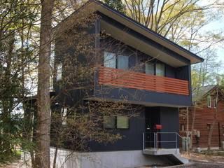 北側外観: 大庭建築設計事務所が手掛けた家です。