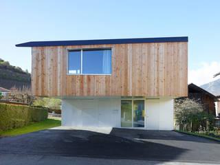 Häuser von évéquoz ferreira architectes