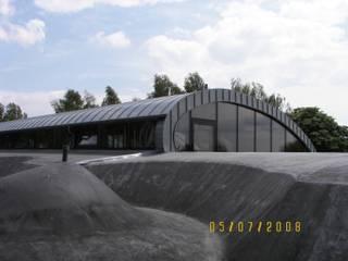 rewitalizacja fortu w Węgrzcach: styl , w kategorii  zaprojektowany przez PRACOWNIA ARCHITEKTONICZNA BARTLOMIEJ K. SITARSKI