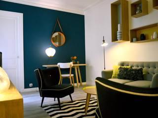 Living room by Agathe Convert, Création d 'Interieurs