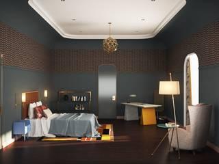Line In Design Camera da letto eclettica