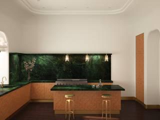 Золотая миля Кухни в эклектичном стиле от Line In Design Эклектичный