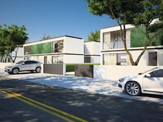 Evergreen: Casas  por Imoproperty - Real Estate & Business Consulting,Moderno