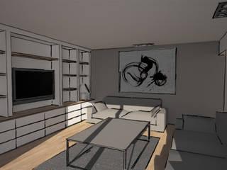 Appartement: Salon de style de style Moderne par iD linea