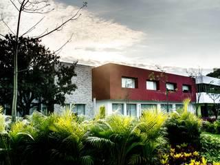 Oficinas ECC Casas modernas de ARKOT arquitectura + construcción Moderno