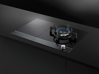 Lifestyle and Product images Fisher Paykel Appliances Ltd Built-in kitchens Glass Black