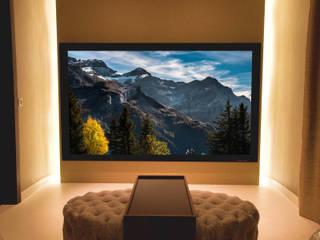 Autumn in Montpelier - Bespoke Home Cinema Finite Solutions Media room