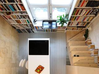 Maison étroite Cuisine minimaliste par brachard de tourdonnet Minimaliste
