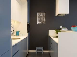 MIESZKANIE 75m2_WARSZAWA_ŻOLIBORZ: styl , w kategorii Kuchnia zaprojektowany przez I Home Studio Barbara Godawska