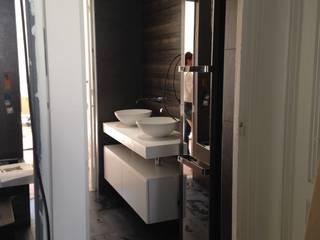 Appartement haussmannien Salle de bain moderne par CLAI Moderne