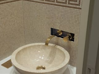 Lavabo après: Salle de bains de style  par CLAI