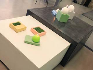 Les Bétons de Clara 客廳邊桌與托盤