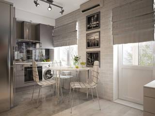 minimalistic Kitchen by «Студия 3.14»