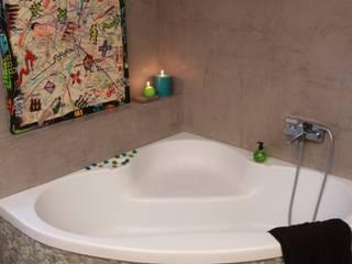 Les Bétons de Clara 現代浴室設計點子、靈感&圖片