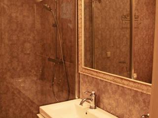 Квартира в стиле прованс Fusion Design Ванная комната в эклектичном стиле