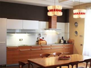 Модная квартира. Кухни в эклектичном стиле от Fusion Design Эклектичный