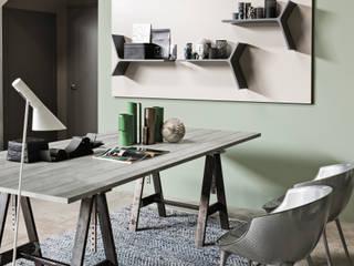 Magnetika system - magnetic shelves and metal panel de Ronda Design Moderno