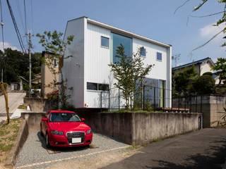Moderne huizen van arbol Modern