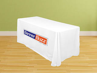 Custom Table Covers / Table Throw Banner Buzz