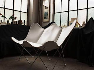 Butterfly TWIN CHAIR leather saddle de WEINBAUMS GmbH Clásico
