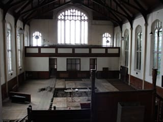 Romilly Quarter - Barry - BEFORE (Church internal):   by Brownfield Green