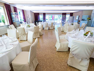 Der renovierte Rosensaal:  Gastronomie von LOBA GmbH & Co. KG