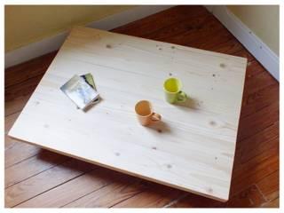 Table basse sur mesure en bois de palette:  de style  par La Fée rabote