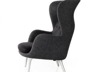 Fotel Ro: styl , w kategorii  zaprojektowany przez Mootic Design Store ,