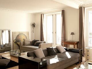 Modern Living Room by ATELIER FB Modern
