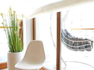 wnętrze mieszkania 68 m2 Nowoczesny salon od Mootic Design Store Nowoczesny