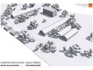 Rénovation Lieux d'événements classiques par AeA - Architecture Eric Agro Classique